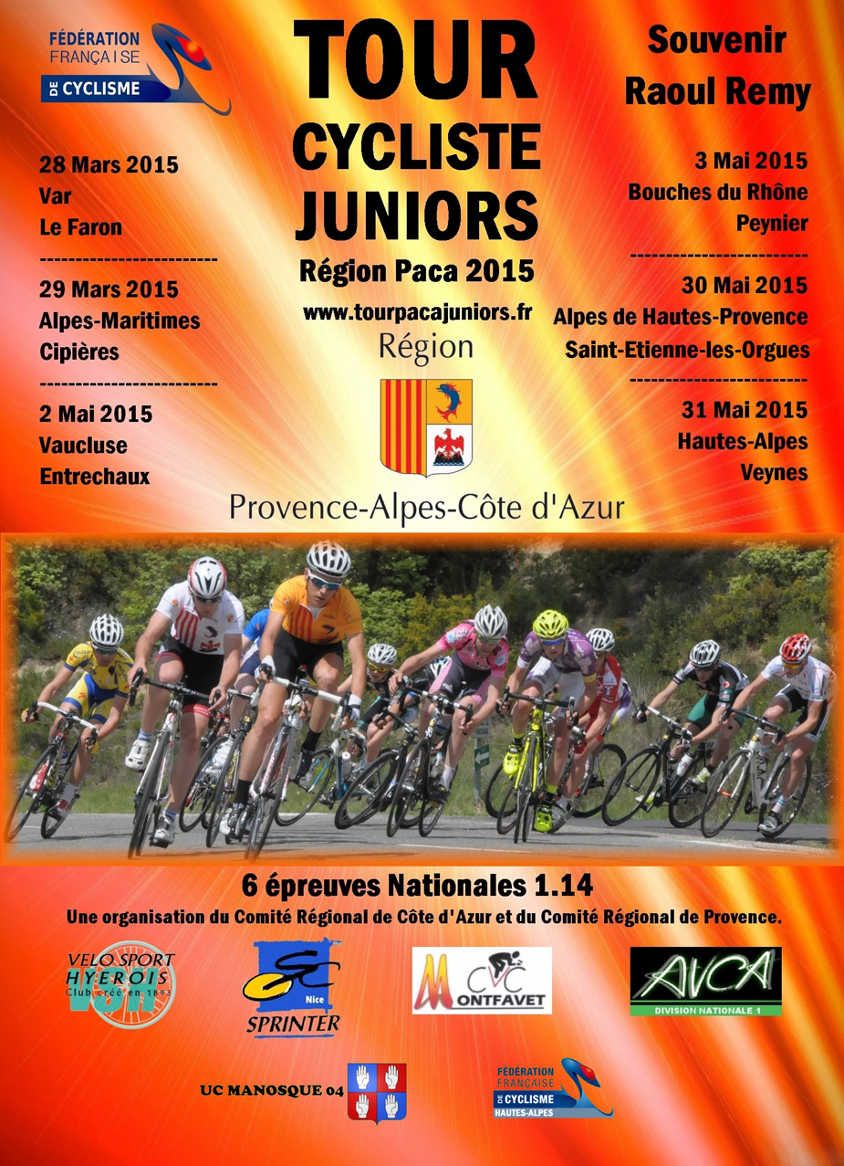 Tour Cycliste PACA juniors 2015