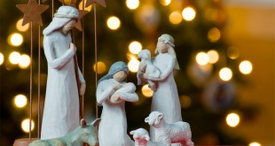 Crèche de Noël Provençale à l'Oustau du village