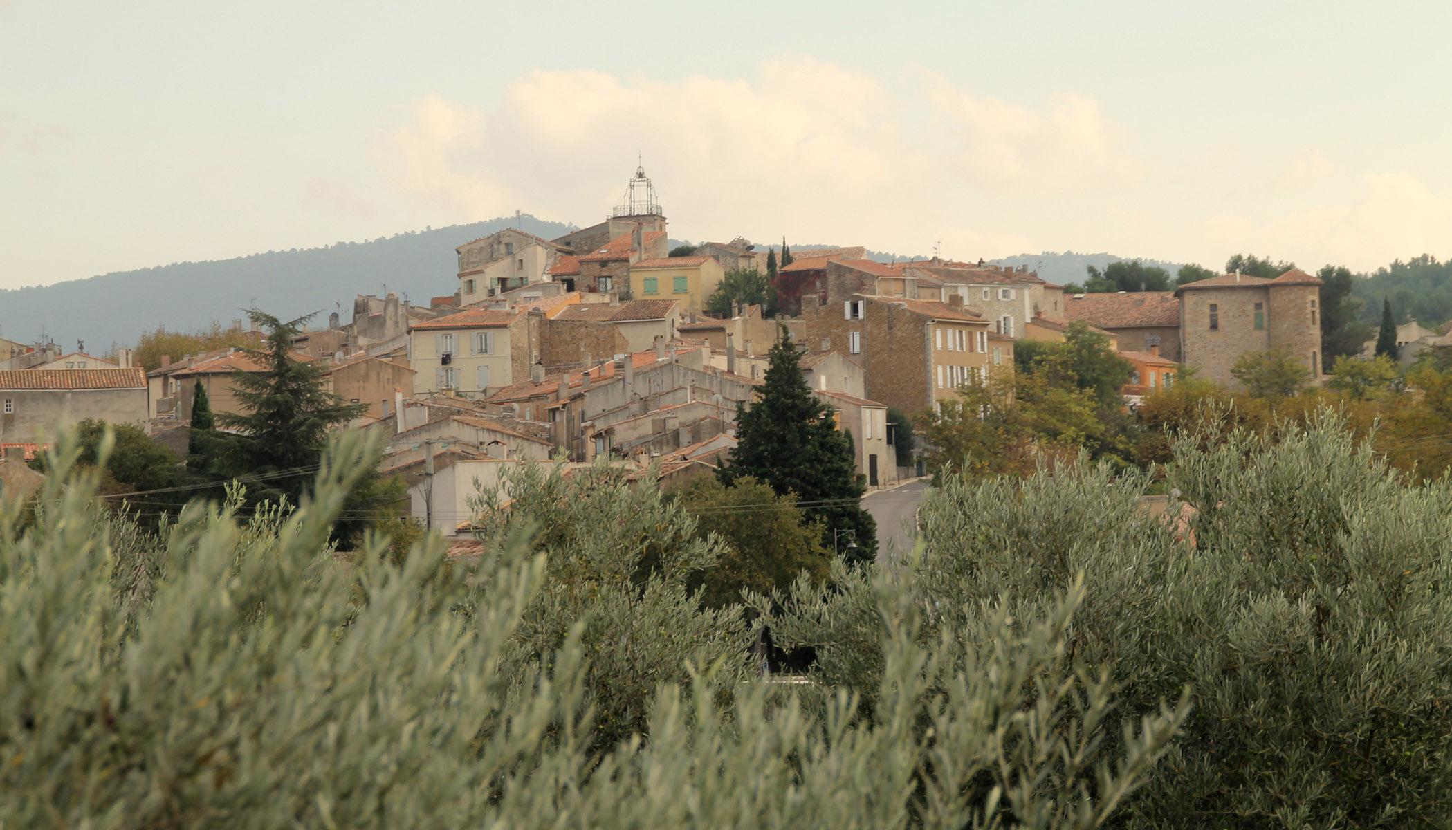 Village-oliviers