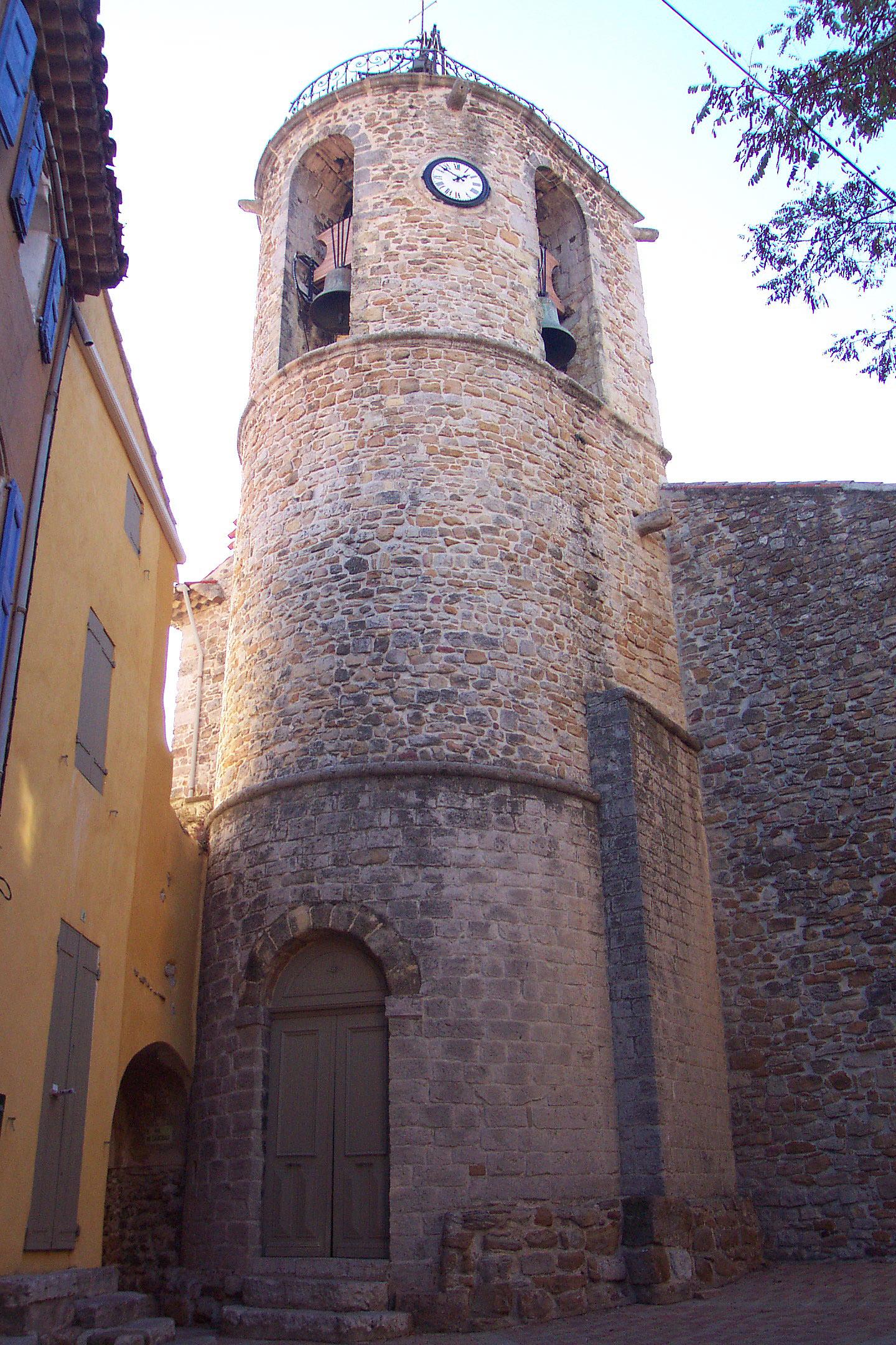 Le clocher de Peynier