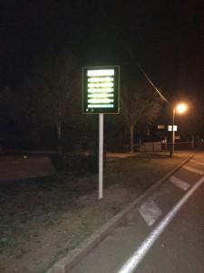 Panneaux d'information lumineux