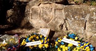 Hommage aux légionnaires ukrainiens de Peynier