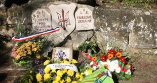 Cérémonie en hommage aux légionnaires Ukrainiens