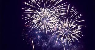 Feu d'artifice du nouvel an | Dimanche 1er janvier 2017