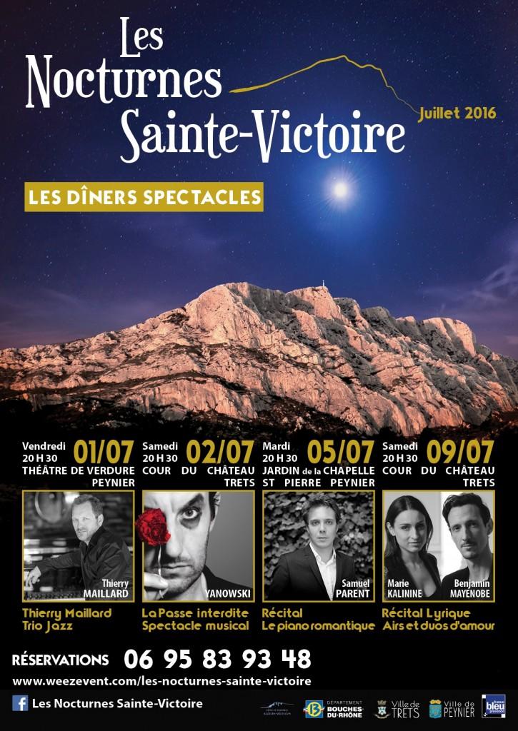 Les Nocturnes Sainte-Victoire