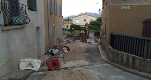 Début des travaux de rénovation de l'avenue du Cabaret