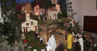 Crèche de Noël Provençale de l'église Saint Julien