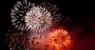 Feu d'artifice du nouvel an | Mardi 1er janvier 2019