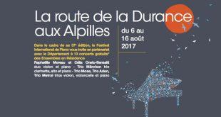 Festival «La Route de la Durance aux Alpilles» | Lundi 14 août 2017
