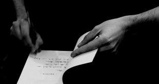 Mains d'écrivains