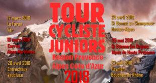 Tour cycliste PACA juniors 2018 | Dimanche 27 mai 2018