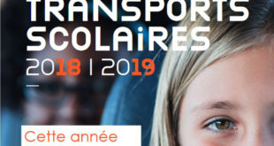 Inscriptions transports scolaires 2018-2019