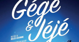 Pièce de théâtre « Gégé & Jéjé » | Samedi 6 octobre 2018