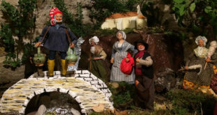 Les traditions provençales et la crèche de Noël à l'Oustau du village