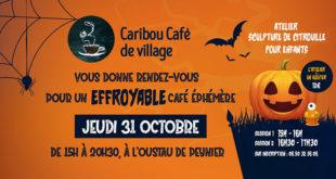 Le Caribou Café de village