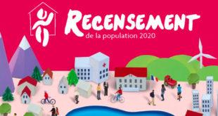 Recensement de la population 2020 sur la commune