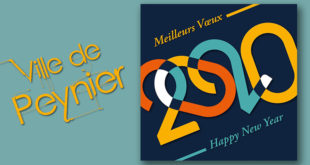 Meilleurs vœux pour l'année 2020 !