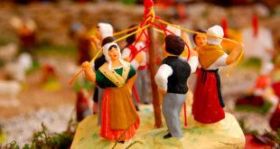 Crèche provençale et traditions de Noël à l'Oustau