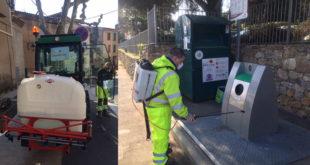 COVID-19 : la Mairie lance une opération de désinfection des rues