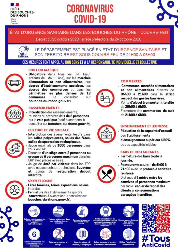 Etat d'urgence sanitaire